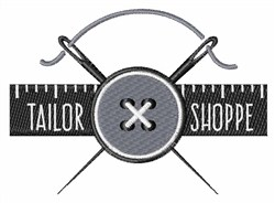 Tailor Shoppe embroidery design