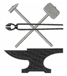 Forge Tools embroidery design