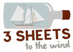 3 Sheets To Wind embroidery design