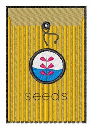 Seed Packet embroidery design