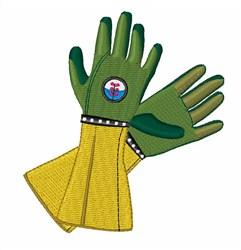 Gardening Gloves embroidery design