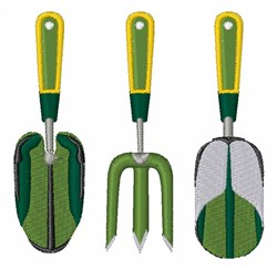 Garden Tools embroidery design
