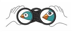 Bird Watching embroidery design