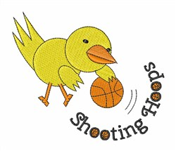 Shooting Hoops embroidery design