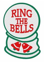 Ring The Bells embroidery design