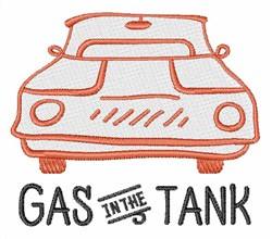 Gas In Tank embroidery design