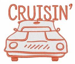 Crusin embroidery design