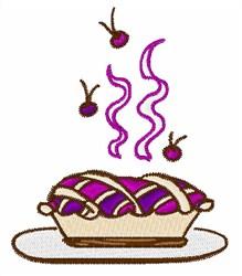 Cherry Pie embroidery design