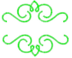 Scroll Border embroidery design