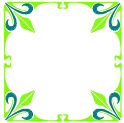 Art Deco Frame embroidery design