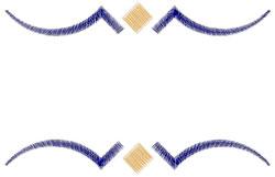 Simple Border embroidery design