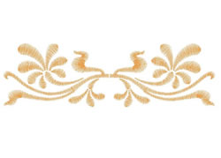 Floral Flourish embroidery design