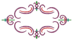Victorian Design embroidery design