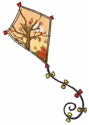 Autumn Kite embroidery design