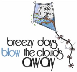 Breezy Days embroidery design