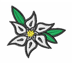 WhiteFlower embroidery design