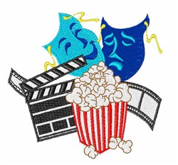 Movie Lover embroidery design