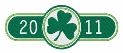 2011 St Patrick's Day embroidery design