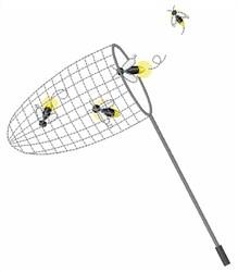 Bug Net embroidery design