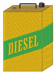 Diesel Can embroidery design