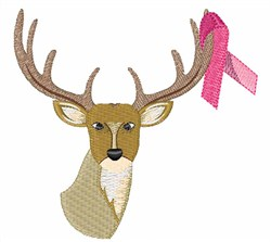 Awareness Deer embroidery design