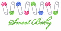 Sweet Baby embroidery design