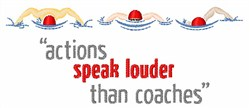 Actions Speak embroidery design
