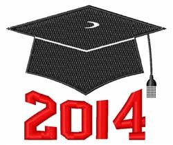 2014 Graduate embroidery design