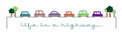 Life Is A Highway embroidery design