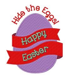Hide The Eggs embroidery design