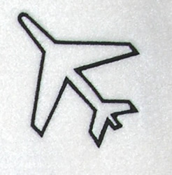 Take Flight Outline embroidery design