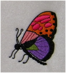Pretty Butterfly embroidery design