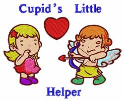 Cupids Little Helper embroidery design