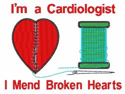 Mend Broken Hearts embroidery design