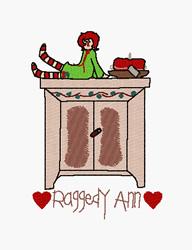 raggedy machine embroidery designs