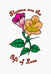 Gift Of Love embroidery design