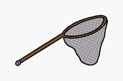 Fishing Net embroidery design