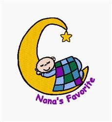 Nanas Favorite embroidery design