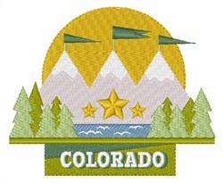 Colorado embroidery design