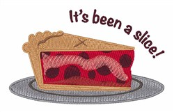 Its Been A Slice! embroidery design