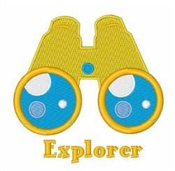 Explorer embroidery design