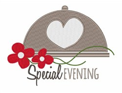 Special Evening embroidery design