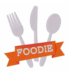 Foodie embroidery design