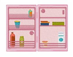 Refrigerator embroidery design