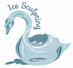 Ice Sculpting embroidery design
