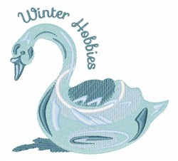 Winter Hobbies Ice Sculpting embroidery design