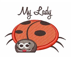 My Lady embroidery design