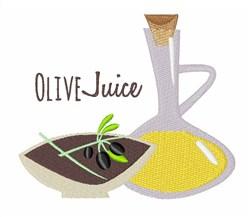 Olive Juice embroidery design