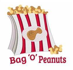 Bag O Peanuts embroidery design