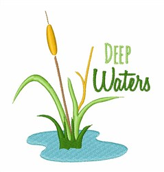 Deep Waters embroidery design